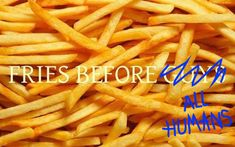 19 Signs You Take French Fries Very Seriously (via BuzzFeed)