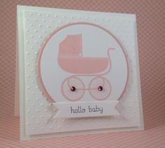 Something for Baby Carriage Card