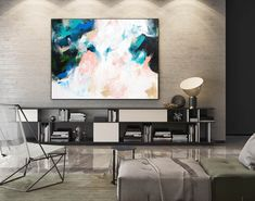 Contemporary Wall Art - Abstract Painting on Canvas, Original Oversize Painting, Extra Large Wall Art Large Abstract Wall Art, Large Canvas Art, Large Painting, Painting Abstract, Painting Art, Knife Painting, Painting Gallery, Gallery Wall, Blank Canvas