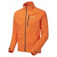 Rapide softshell jas heren oranje