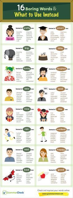 16 Boring Words & What to Use Instead