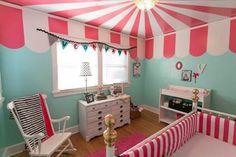 Habitaciones infantiles temáticas, vivir en un circo
