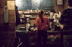 Coffee shops were full of choices. And though trivial, it seemed like what she ordered spoke more about her than anything else would.