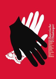 Otello, Bayerische Staatsoper por Pierre Mendell.