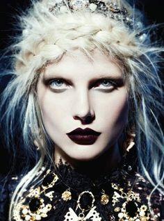 femmes maquillage Halloween simple