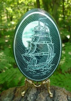 Hand carved and decorated eggshells by international award winning artist Tina M. Carved Eggs, Art Carved, Emu Egg, Incredible Eggs, Egg Shell Art, Animal Templates, Aboriginal Painting, Easter Egg Designs, Plastic Eggs