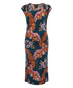 Multicolour Totsi Floral Print Dress Anglomania by Vivienne Westwood