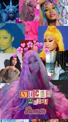 Nicki Baby, Nicki Minaji, Nicki Minaj Barbie, Bad Girl Wallpaper, Rap Wallpaper, Pink Wallpaper Iphone, Wallpaper Backgrounds, Dope Wallpapers, Celebrity Wallpapers