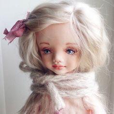 Доброе утро 😘   #кукларучнойработы   #авторскаяработа   #кукла   #куклаизпластика