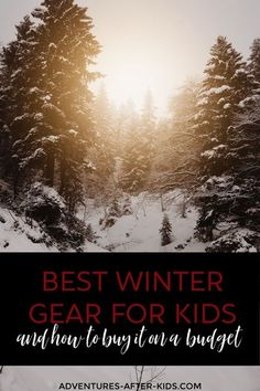 Keep your kids warm and dry with this awesome winter gear. Check out this post to find out what brands are the best and where to find them for cheap. #affordablesnowclothes #bestwintergearforkids #bestbrandsforwintergear