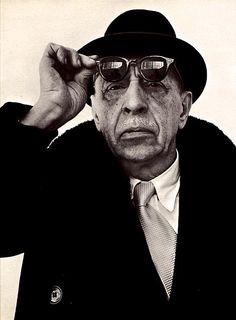 Russian composer Igor Stravinsky.