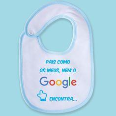 Nem o Google encontra! 😂 #zizimut #funnytshirts #giftshops #personalizedgifts #personalizadas #porto🇵🇹 #babete #bibs #baby #bebe #babetespersonalizados #babeteengraçado #babybib #google