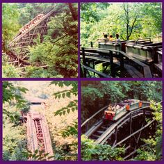 """The amusement park in """"Carousel Magic"""" is based on Cascade Park in my hometown of New Castle, PA. New Castle Pennsylvania, Cascade Park, Lawrence County, Over The River, Ol Days, Good Ol, Amusement Park, Roller Coaster, Newcastle"""