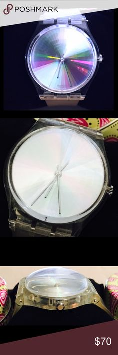 Vintage Authentic Swatch Watch sale! Vintage Authentic Swatch Watch sale! Reasonable offers accepted! Swatch Accessories Watches