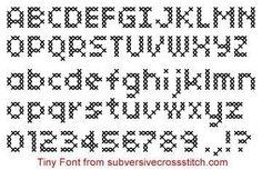 PDF: Tiny Font