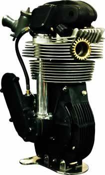 Standard Molnar Manx Norton Engine