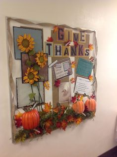 November - Okay, maybe not for my kids' worship area, but would be beautiful in our fellowship hall.