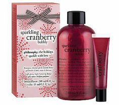 philosophy sparkling cranberry bubbly duo