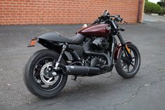 Harley street 750 for Bartels' Harley-Davidson from Chappell Customs