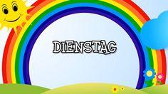 Wochentage lernen für Kinder - Tage von Montag bis Sonntag (deutsch) Ler...