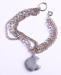 "Polymer Clay ""iBracelet"" bracelet by milk+biscuit, $12"