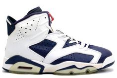 137d5b84928d06 Jordan Shoes Air Jordan 6 Retro Olympic Midnight Navy Varsity Red White  Air  Jordan 6 - For the Sydney 2000 Olympic games