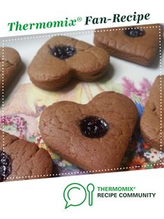 Lebkuchen - Traditional German Gingerbread Christmas Biscuit Treat by Thermo in the CITY. A Thermomix <sup>®</sup> recipe in the category Baking - sweet on www.recipecommunity.com.au, the Thermomix <sup>®</sup> Community.
