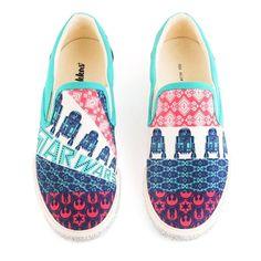 Inkkas Star Wars Slip-Ons - Star Wars Shoes - Ideas of Star Wars Shoes #starwars #shoes #starwarsshoes - Inkkas Star Wars Slip-Ons Star Wars Shoes, Star Wars Film, Star Wars Gifts, Star Wars Collection, Brand Ambassador, For Stars, Types Of Shoes, Keds, Shoes Online