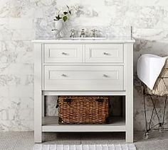 All Bath Furniture And Mirrors | Pottery Barn