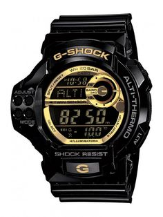 Black and Gold G-Shock Watches Very cool these G Shocks,