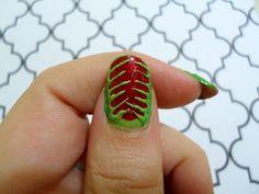 Venus fly trap nails