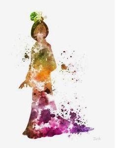 Mulan  watercolor