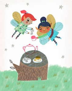 The Magical Faerie Tea Party by Sarah Walsh