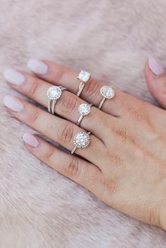 The James Allen engagement rings we love