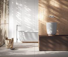 Spa-Inspired Bath Line by Monica Graffeo for Rexa Design