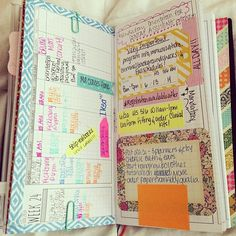 Organize your life Use this idea to write down plans or things you need to do so you won't forget them.