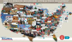 America is a strange place. After driving your 100th or 400th mile, you tend to go a little crazy. We've broken the monotony of more than 4 million miles of plain road with some truly weird ...