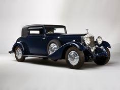 1933 Hooper Rolls Royce Phantom II Continental Sports Coupe #156MY