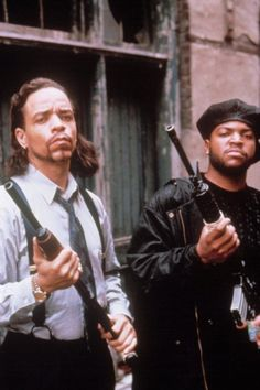 Ice-T and Ice Cube...all I need is a lemon wedge mmm