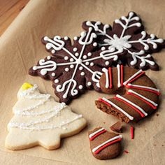 Vanilla Roll-Out Cookies  For a lemony twist, reduce the vanilla extract to 3/4 teaspoon and add 1 1/4 teaspoons finely grated lemon peel.