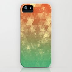 Glitteresques IV iPhone & iPod Case by Rain Carnival - $35.00 #iphone #samsung #case #skin #glitter #glittery #triangles #abstract