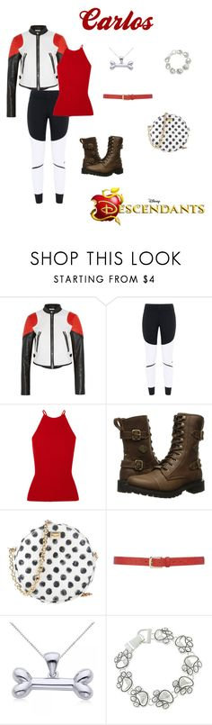 """""""Carlos Disney Bound"""" by disney-nerd-designs ❤ liked on Polyvore featuring Givenchy, adidas, Alexander Wang, Disney, Harley-Davidson, Dolce&Gabbana, M&Co and Allurez"""