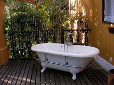 Banheira na Pousada Toca da Coruja - Pipa Brasil Bathtube in Toca da Coruja Hotel - Pipa Brazil