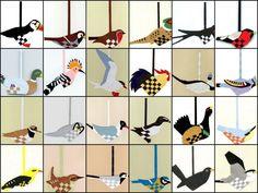 Flettede fugle!