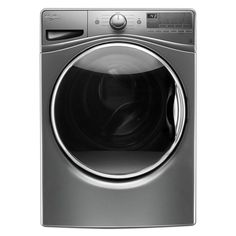 Whirlpool 4.5 cu. ft. High-Efficiency Front Load Washer with Steam in Chrome Shadow, Energy Star