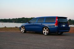 Yes...this is a Volvo wagon. A V70R to be exact. It will shame your Mustang.