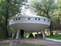 UFO-house in Chattanooga, Tennessee