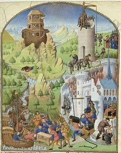 Titre : « Compillation des Cronicques et ystores des ...Date d'édition : 1401-1500