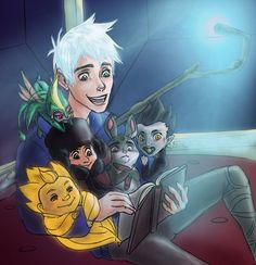 Jack Frost - jack-frost-rise-of-the-guardians Fan Art
