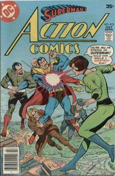 Superman - Action - Classic - Starburst - Struggling - Curt Swan, Neal Adams